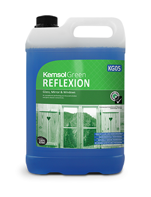 Reflexion Glass Cleaner Kemsol Green 20L