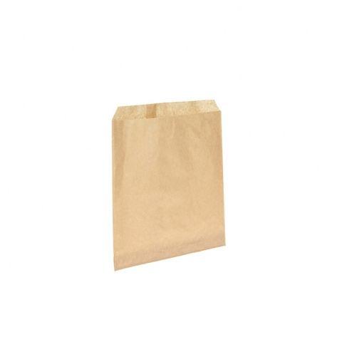 #4 Flat Brown Paper Bag 200mmx240mm 1000 pkt