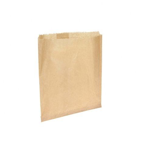 #7 Flat Brown Paper Bag 255mmx295mm 500 pkt