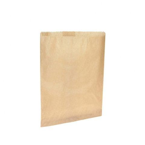 #8 Flat Brown Paper Bag 255mmx330mm 500 pkt