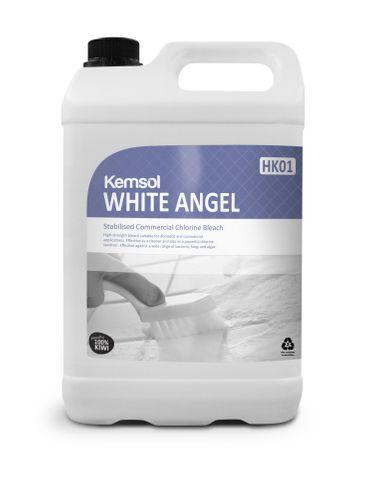 Kemsol White Angel Chlorinated Bleach 5L
