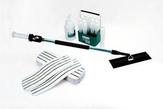 Easy Scrub Flat Mop Starter Kit