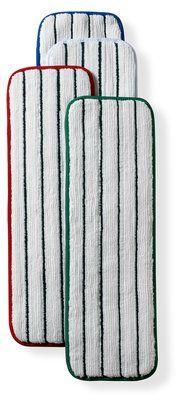 3m Easy Scrub Plus Flat Mop Pads 18'' Green