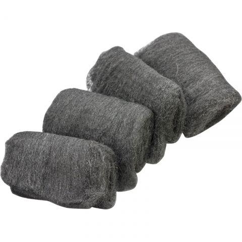 Steel Wool Fine pkt 12