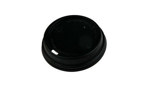 Black Universal Lids for 8/12/16oz Twist Cups