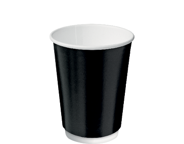 Castaway  Double Wall Hot Cup Black 355ml