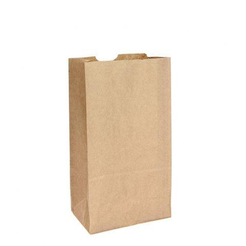 #6 Block Bottom Standard Brown Paper Bag 500pk