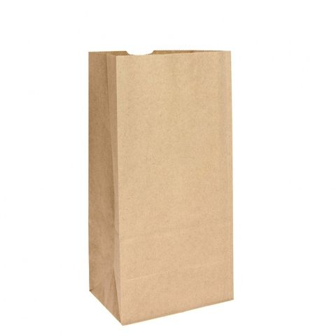 #8 Block Bottom Heavy Duty Brown Paper Bag 250 pk