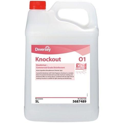 Diversy Knockout Disinfectant Deodoriser 5Ltr