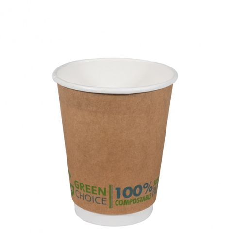 Green Choice Double Wall Cup 12oz 25 per sleeve