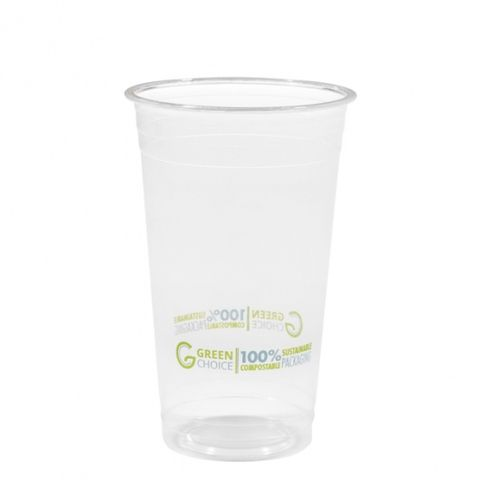 Green Choice Clear Cup 20oz 50 per sleeve