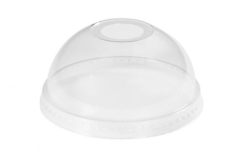 Green Choice Clear Cup Dome Lid 50 per sleeve