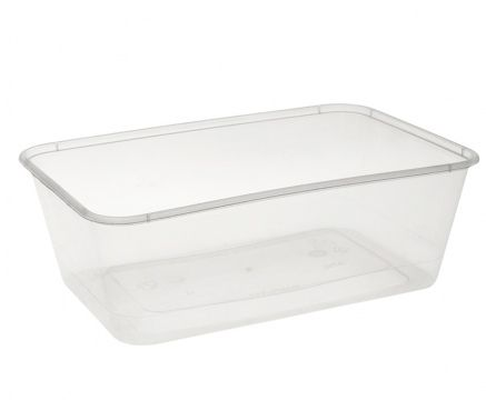 Uni-chef 750ml  Rectangular Containers BS750