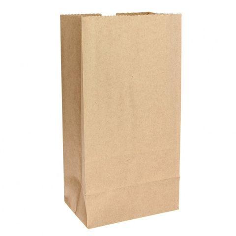 #12 SOS Self Opening Brown Paper Bag 178Wx340Lx110D