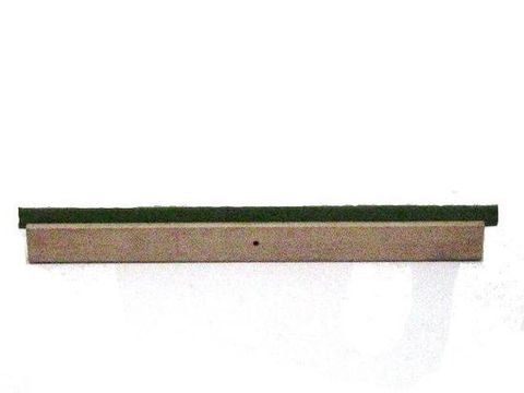 Wooden Frame Floor Squeegee 610mm With Handle and Bracket
