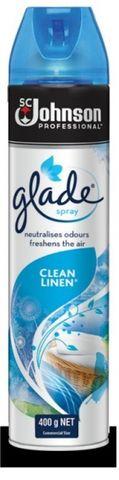 Glade Clean Linen Air Freshener 400g