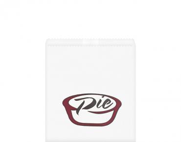Grease Proof Bag Printed PIE 165 x 200 mm