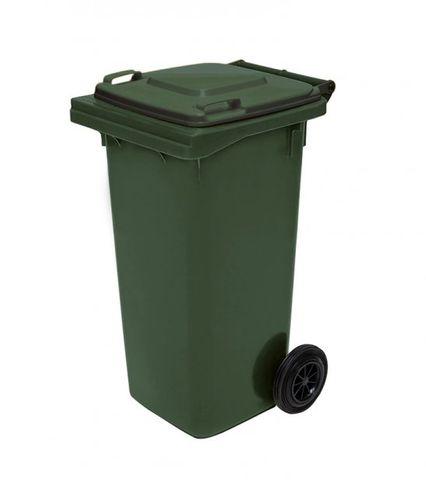 Wheelie Bin  Green 120 Litre