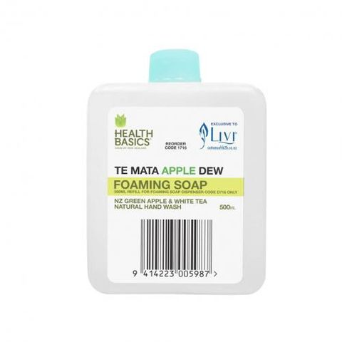 Llivi Health Basics Foaming Soap Apple 500ml