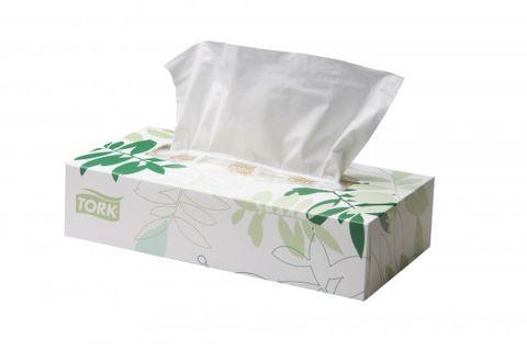 Tork F1 Extra Soft Facial Tissues 100's 48 per Ctn