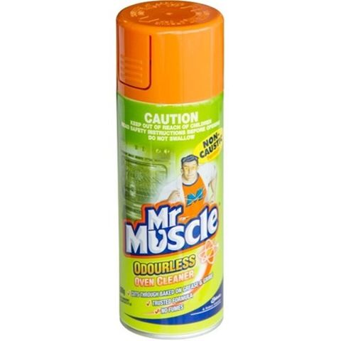 Mr Muscle Oven Cleaner Non Caustic Aerosol Odourless