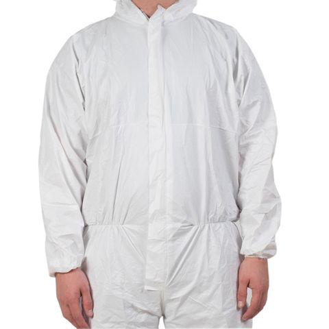 Disposable Coveralls / Overalls White XL