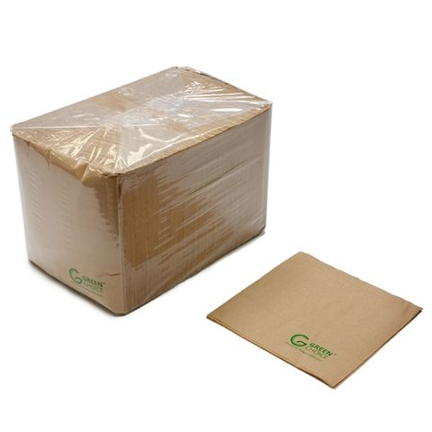 Green Choice Napkin Kraft 1/4 Fold 500 Slve