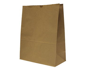 #15 SOS Self Opening Brown Paper Bag 330Lx257Wx120D