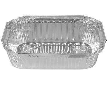 Medium Rectangular Foil Take Away Tray 560ml