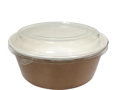 Colpac Multi Food Pot & Pet Lid Combo 700ml 25 per sleeve