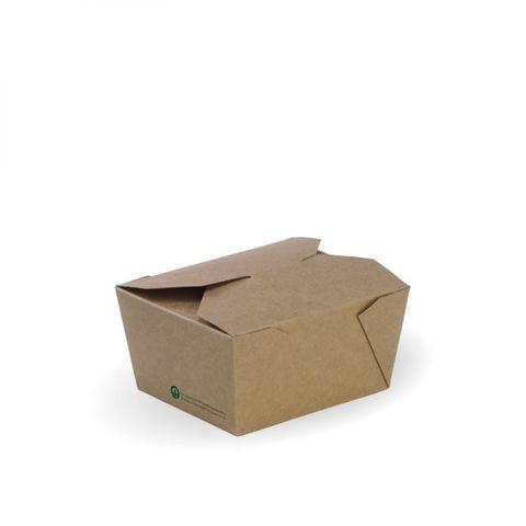 Biopak Bioboard Noodle Box 240ml 60Lx45Wx65D