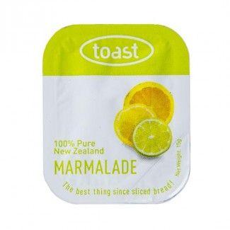Toast Marmalade Jam  75 units per tray