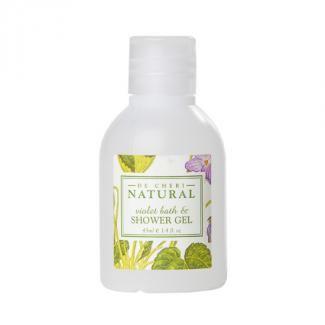 De Cheri Natural Violet Bath & Shower Gel Bottle