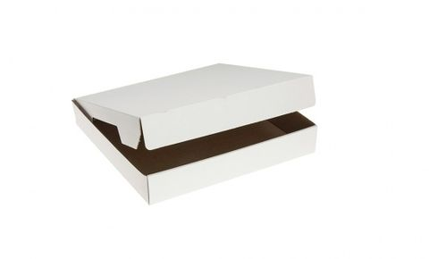 Emperor Pizza Box 230x230x40 White 50 per sleeve