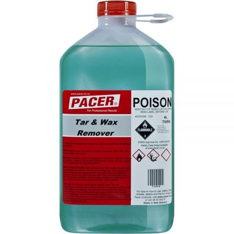 Pacer Tar and Wax Remover 4L