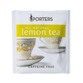 Porters Lemon Tea Bags 100