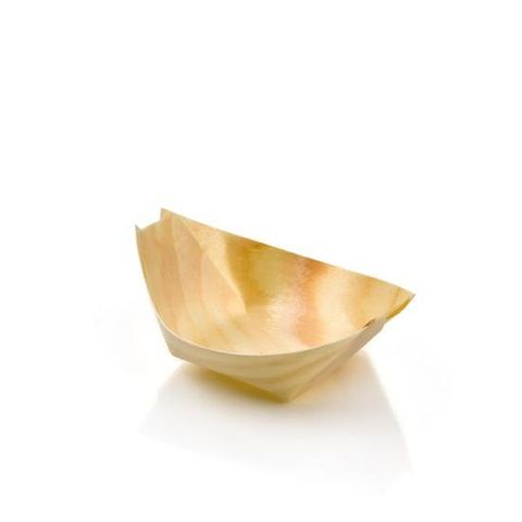 Wooden Disposable Boat Dish Baby 6cm