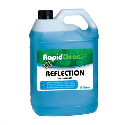 Reflection RTU Glass Cleaner - 5 Ltr RapidClean
