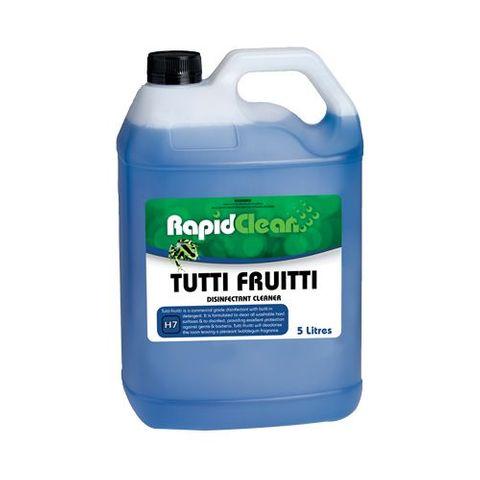 Tutti Fruitti Disinfectant 5L RapidClean