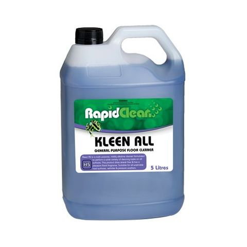 Kleen All Floor Cleaner Eucalyptus 5L RapidClean