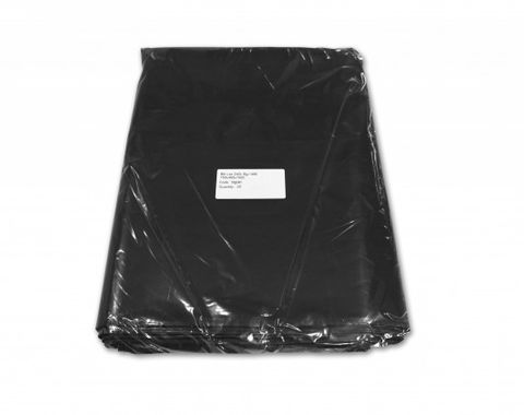 240L Black Wheelie Bin Liner 30 pack