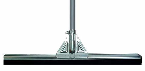 Floor Squeegee Straight 450mm Rubber Alloy Frame