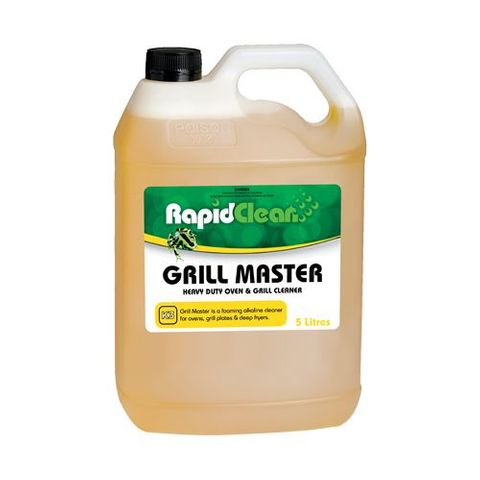Grill Master Heavy Duty Oven & Grill Cleaner - 5Ltr