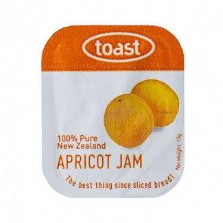 Toast Apricot Jam 48 units per tray