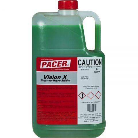 Vision X Windscreen Additive Pacer 4 Ltr