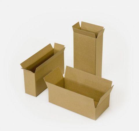 Brown Cardboard Box 340x255x305