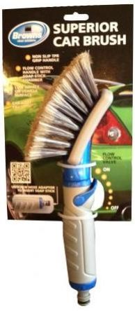 Browns Caress Superior Car Brush