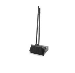 DUST PAN, BRUSHES AND BROOM