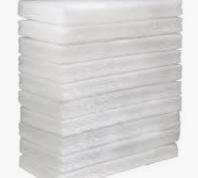 Oates Eager Beaver Floor Pad (White)