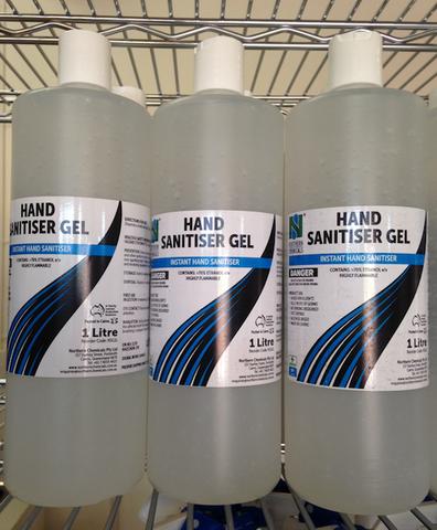 Hand Sanitiser Gel 1 Litre